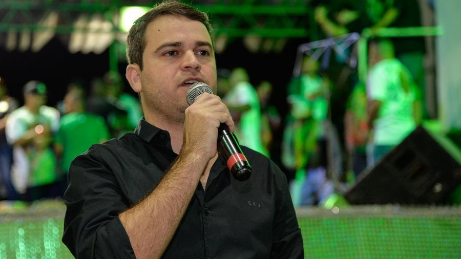 O empresário Rodrigo Pacheco, candidato à presidência da Liesa - Eduardo Hollanda