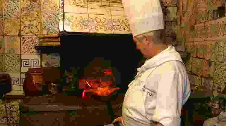 No restaurante Botín, o leitão é preparado em um forno do século 18 - Divulgação/Botín - Divulgação/Botín