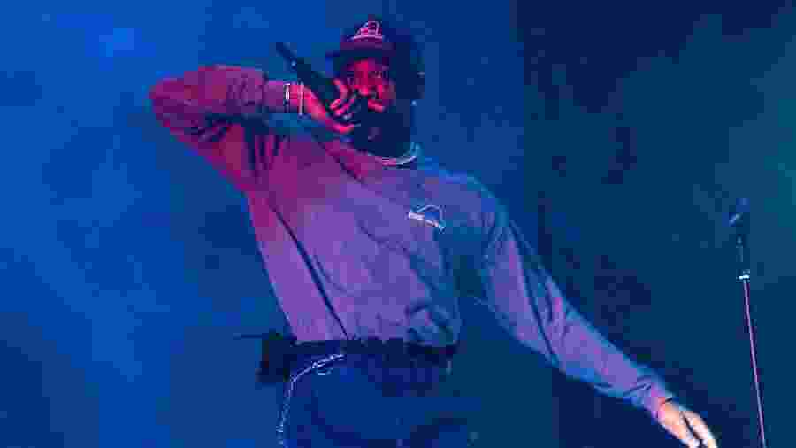 Travis Scott se apresenta no Wireless Festival 2019, em Londres - Lorne Thomson/Redferns/Getty Images