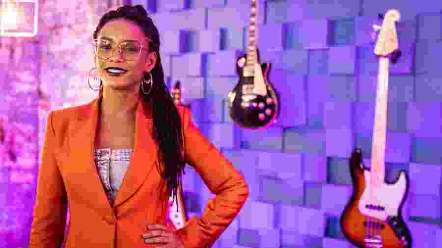 Taís Araújo é apresentadora do Popstar, que estreia dia 27 na Globo - Paulo Belote/Globo