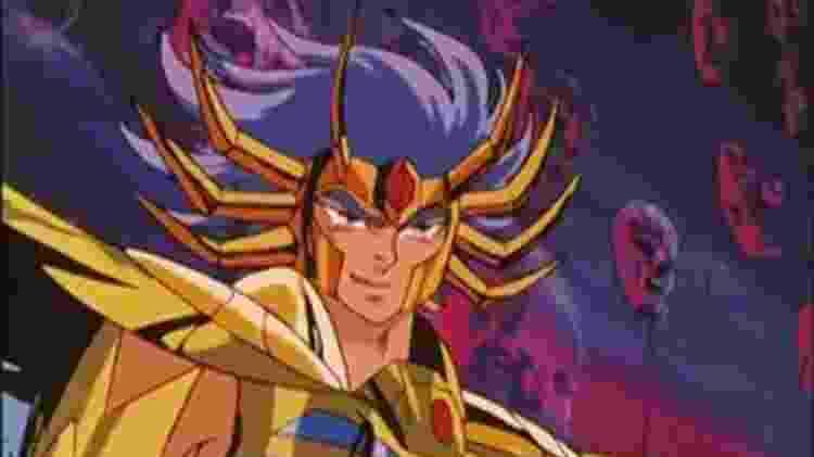 Máscara da Morte, o cavaleiro de ouro de câncer - Reprodução - Reprodução