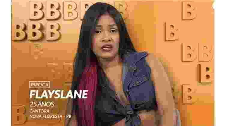 Flayslane - Reprodução/TVGlobo - Reprodução/TVGlobo