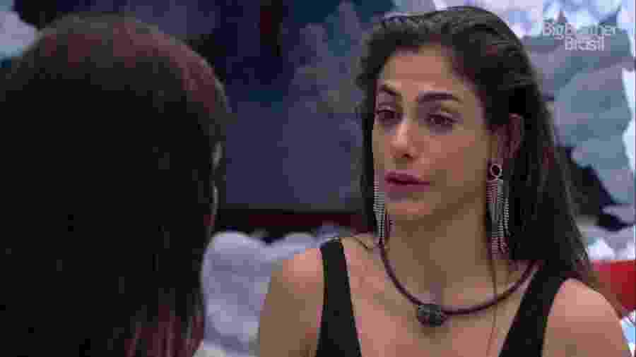 Mari Gonzalez reclama de Rafa Kalimann - Reprodução/Globoplay