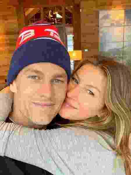 Tom Brady e Gisele Bündchen - REPRODUÇÃO/INSTAGRAM