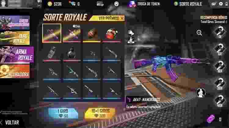 Arma Royale - Reprodução - Reprodução