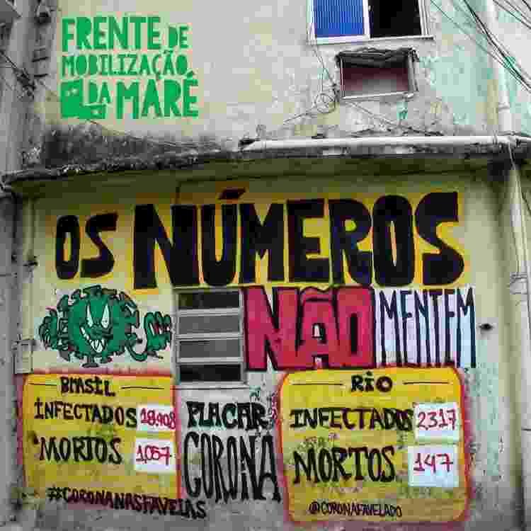 Na Maré, o trabalho jornalístico envolve também comunicar nos muros das ruas - Frente de Mobilização da Maré - Frente de Mobilização da Maré