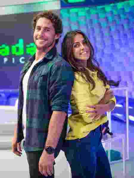 Flávio Canto e Carol Barcellos - João Cotta / TV Globo - João Cotta / TV Globo