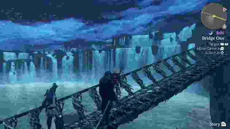 Xenoblade Chronicles cenário - Reprodução - Reprodução