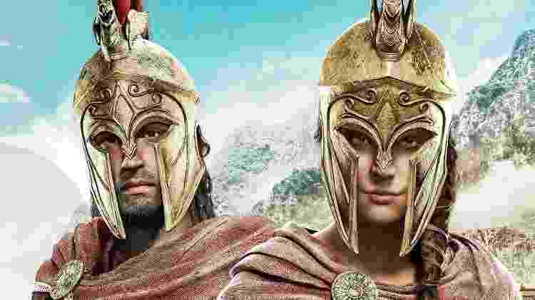 Assassin's Creed Odyssey - Divulgação/Ubisoft - Divulgação/Ubisoft