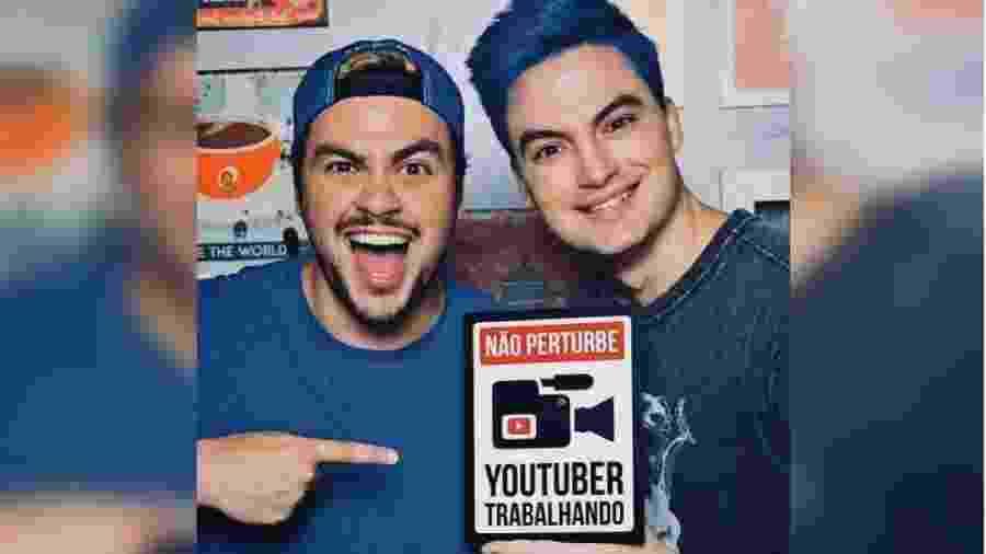 Os irmãos Luccas e Felipe Neto travam batalha judicial contra Antônia Fontenelle, acusada de ligar a imagem deles a pedofilia - reprodução/Instagram