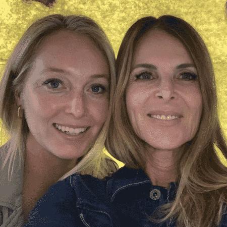India e Catherine Oxenberg - Reprodução / Instagram