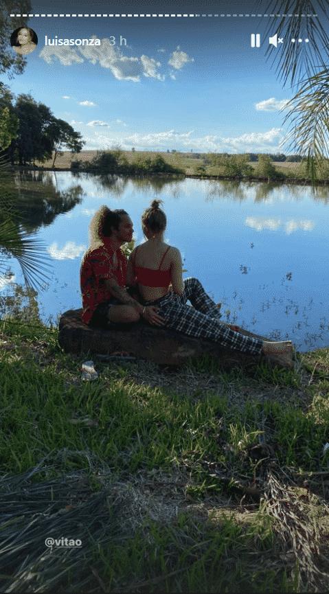 Luísa Sonza e Vitão curtem viagem à casa dela no Rio Grande do Sul - Reprodução/Instagram