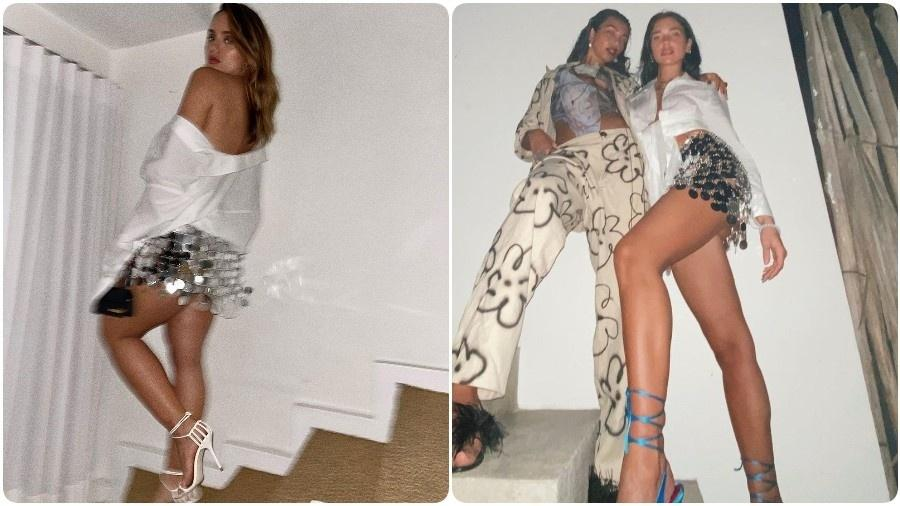 Rafa Kalimann usa look igual ao de Dua Lipa - Instagram