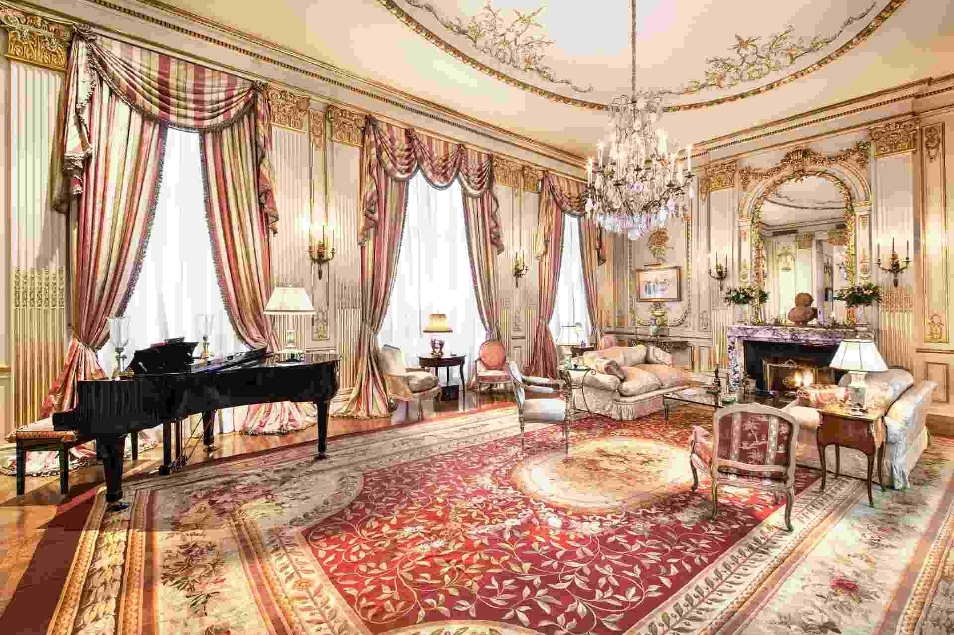 Apartamento de Joan Rivers em NY, vendido à US$ 28 mi (Imagem do NYT, usar apenas no respectivo material) - Fred R. Conrad/ The New York Times