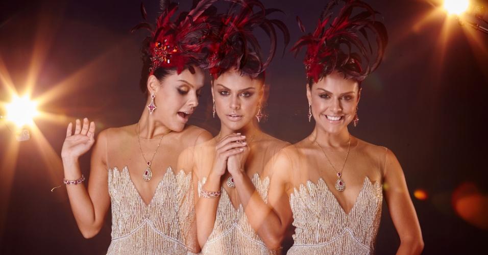 Paloma Bernardi faz ensaio exclusivo dias antes do Carnaval 2016