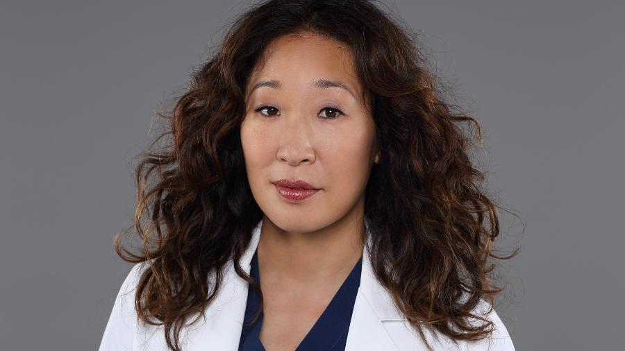 """A atriz canadense Sandra Oh como Cristina Yang em """"Grey""""s Anatomy"""" - Divulgação/ABC"""