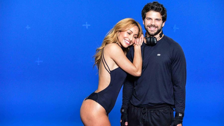 Sabrina Sato posa para campanha publicitária com o namorado, Duda Nagle - Leo Franco/AgNews