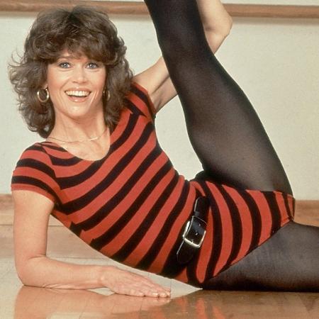 """Séries de exercícios de Jane Fonda eram """"febre"""" nos anos 80  - Reprodução/Jane Fonda""""s Original Workout"""