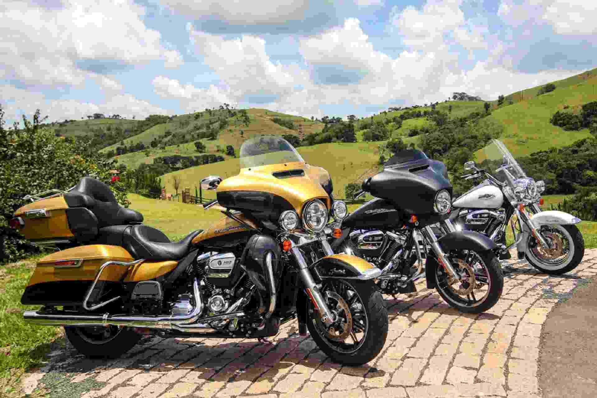 Linha Harley-Davidson Touring 2017 - Divulgação