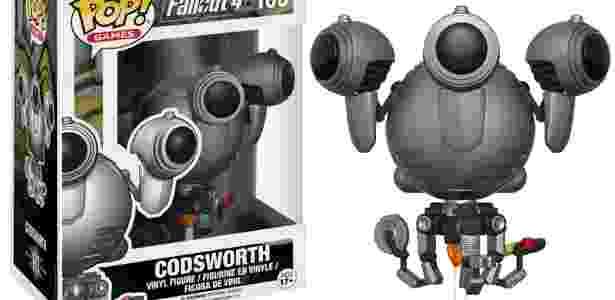 Boneco Funko Pop! do robô Codsworth - Reprodução