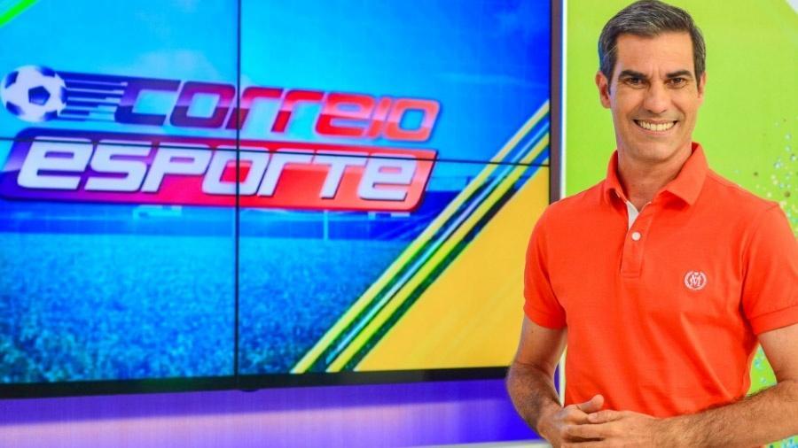 Serginho Montenegro é apresentador do programa de esportes da TV Correio, afiliada da Record na Paraíba - Reprodução/Facebook