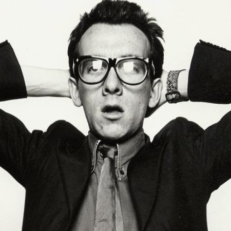 O cantor Elvis Costello - Reprodução