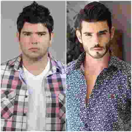 Júnior Garcia chegou aos 117 quilos e hoje tem 90 - Arquivo Pessoal - Arquivo Pessoal