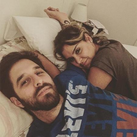 Rafinha Bastos e Junia Carvalho - Reprodução/Instagram