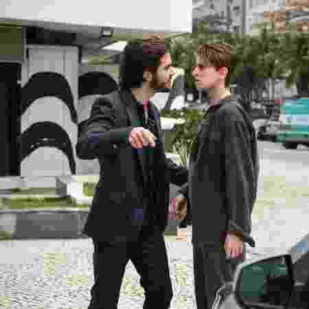 """Ruy (Fiuk) defende Ivana (Carol Duarte) em """"A Força do Querer"""" - Estevam Avellar/TV Globo - Estevam Avellar/TV Globo"""