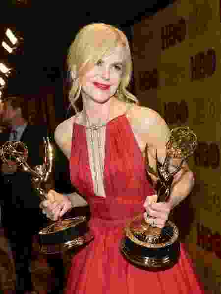 Nicole Kidman faz alerta sobre violência doméstica no Emmy Awards - Getty Images