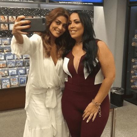 Juliana Paes e Fabiana Escobar - Reprodução/Instagram/bibiperigosa