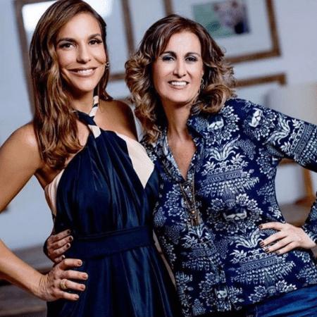 Ivete Sangalo e Márcia Cabrita - Reprodução/Instagram/veveta