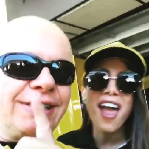 Marcelo Tas e Anitta