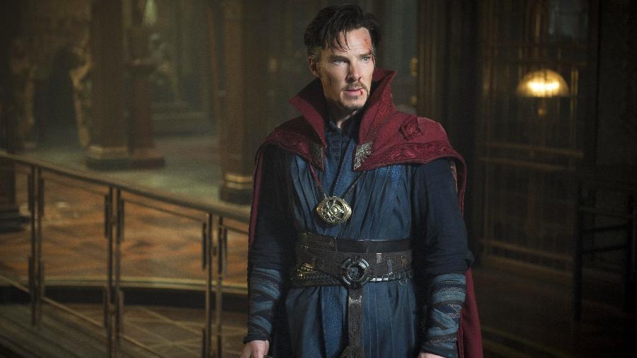 Benedict Cumberbatch como Doutor Estranho - Reprodução