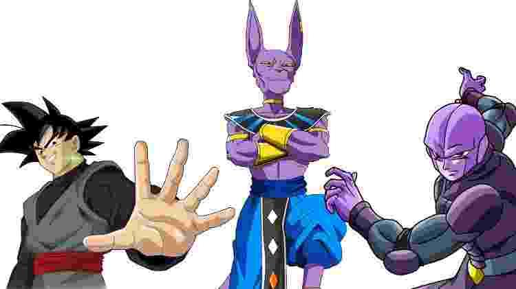 """Goku Black, Bills e Hit foram confirmados no jogo, o que abre a chance de outros personagens de """"Super"""" aparecerem - Reprodução"""