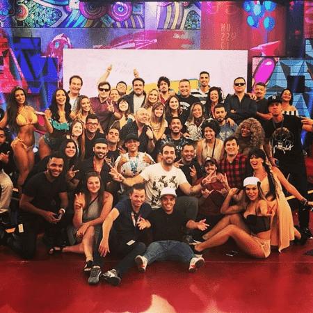 """Equipe do """"Pânico na Band"""" - Reprodução/Instagram/rodrigovesgo"""
