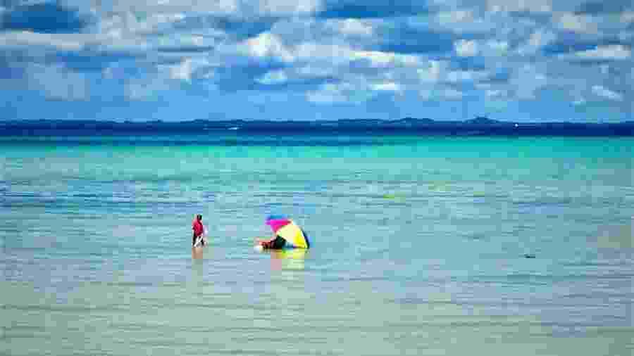 Um mar caribenho em vários tons - Ana Paula Garrido