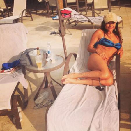 Luiza Tomé curte dia na praia - Reprodução/Instagram