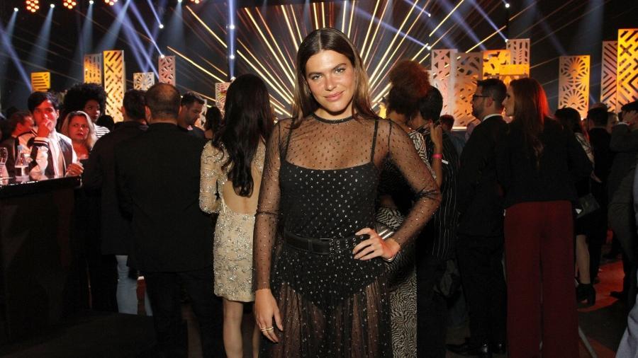 Mariana Goldfarb escolheu look transparente para o Miss Brasil - Thyago Andrade/Brazil News
