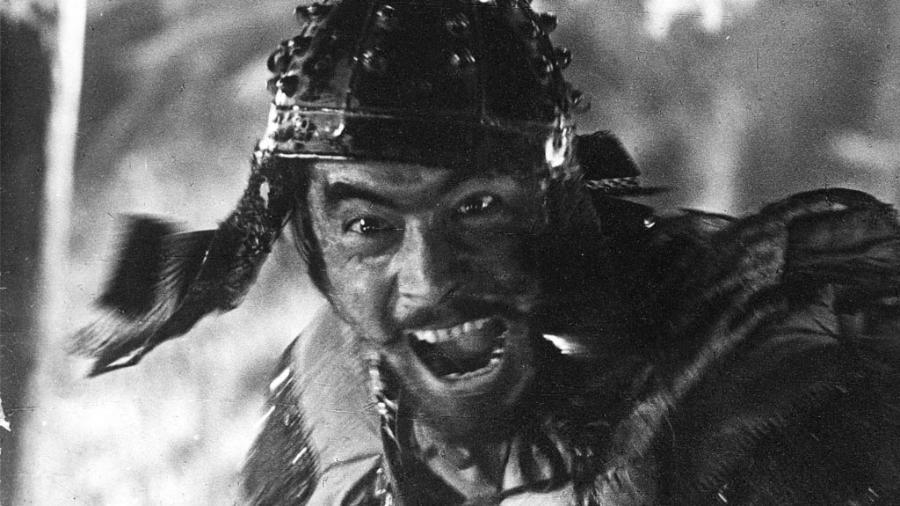 """Cena do filme """"Os Sete Samurais"""" - Reprodução"""