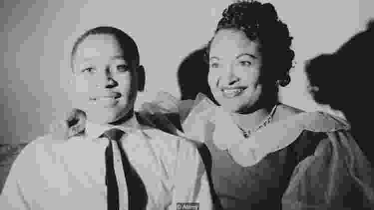 O afro-americano Emmett Till foi linchado aos 14 anos no Mississippi depois de supostamente ter feito 'fiu-fiu' para uma mulher branca - Alamy - Alamy