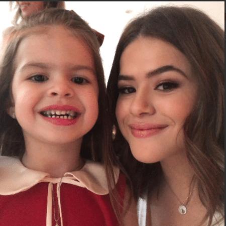 Valentina Muniz e Maisa Silva - Reprodução/Instagram