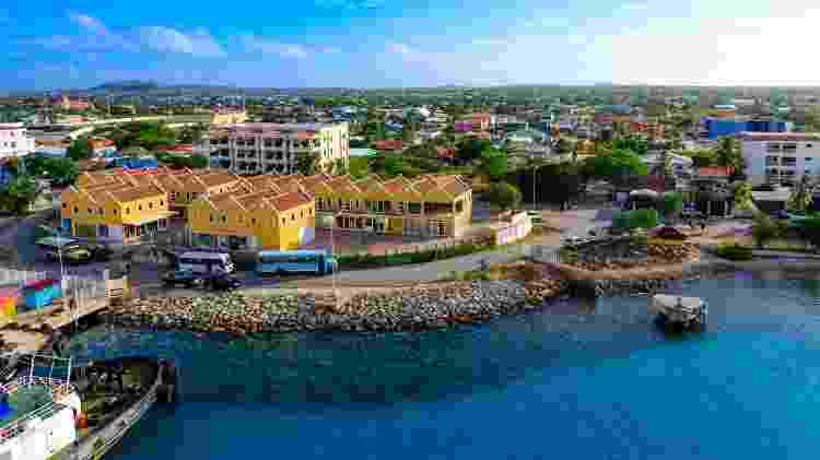 Ilha de Bonaire, no Caribe - Port of Bonaire - Port of Bonaire