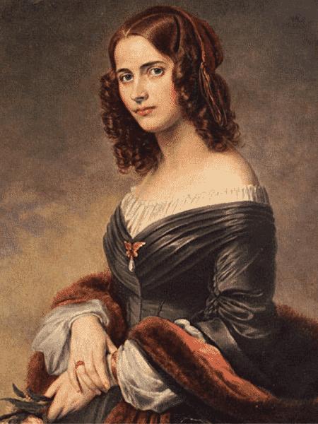 A caompositora Fanny Mendelssohn - Reprodução