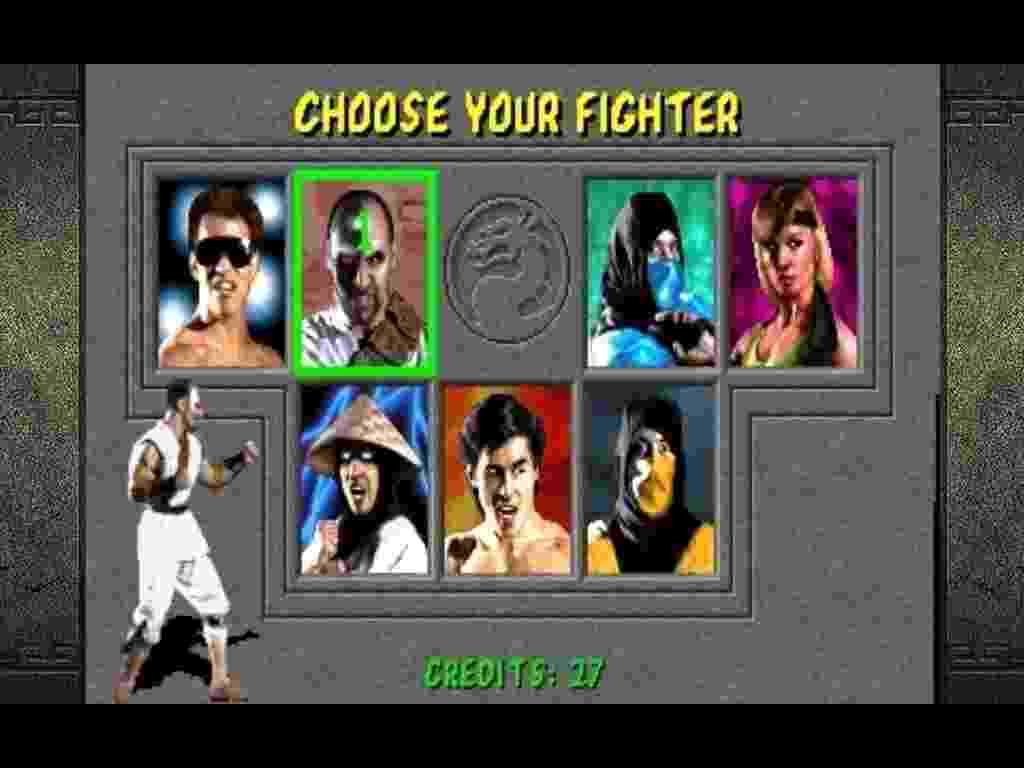 Mortal Kombat - Reprodução