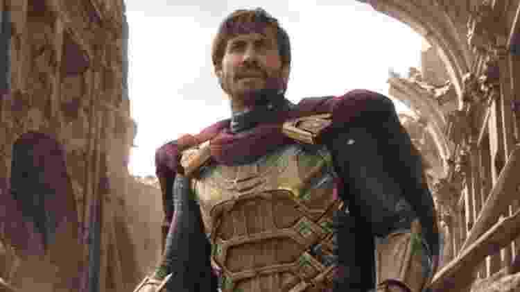 """Jake Gyllenhaal como o Mistério de """"Homem-Aranha: Longe de Casa"""" - Reprodução"""