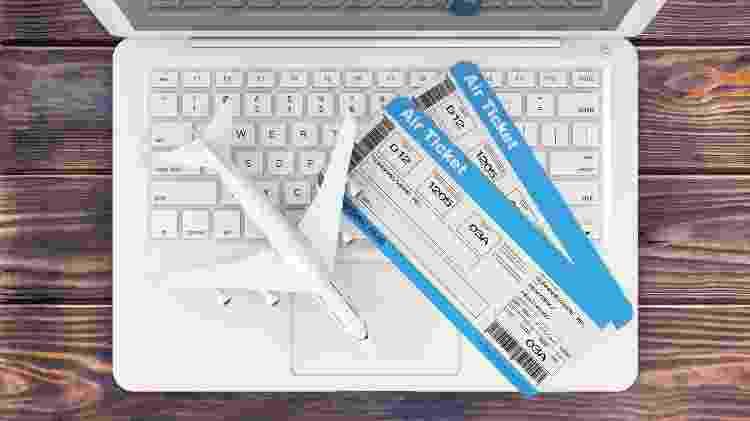 Passagem aérea, bilhete aéreo, busca de passagens na internet - doomu/Getty Images/iStockphoto - doomu/Getty Images/iStockphoto