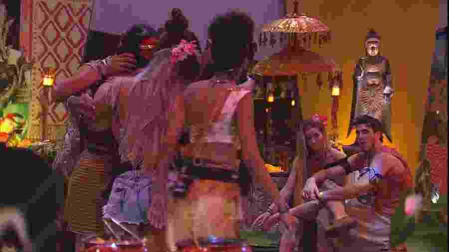 Festa BBBali é marcada por drama de casal e muito choro - Reprodução/Gshow