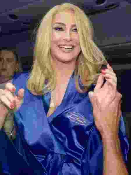 Claudia Leitte chega para apresentação no circuito Barra-Ondina de Salvador - Daniel Dalmiro/AgNews