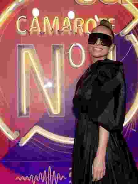 Sabrina Sato chega para o segundo dia de desfiles no camarote Carnauol N1 - Selmy Yassuda / UOL